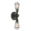 This item: Jax Aged Pewter Six-Inch Two-Light Wall Sconce