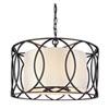 This item: Coco Dark Bronze Five-Light Drum Pendant