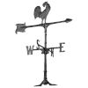 This item: Black 30 Rooster Accent Weathervane