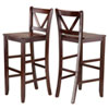 This item: Victor 2-Piece 29-Inch V Back Bar Stools