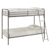This item: Brandy Gray Twin Over Twin Bunk Bed