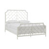 This item: Falkner White Geometric Metal Queen Bed