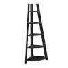 This item: Roark Black Corner Ladder Bookcase