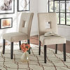 This item: Jacot Keyhole Side Chair, Set of 2