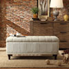 This item: Tufted Beige Upholstered Storage Bench