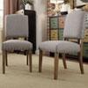This item: Needham Smoke Shield Back Dining Chair, Set of 2