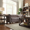 This item: Norfolk Smoke Chesterfield Loveseat