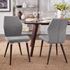 This item: Byxbee Espresso Contoured Side Chair, Set of 2
