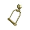 This item: Satin Brass Double Post Toilet Paper Holder