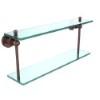 This item: Antique Copper 22-Inch Double Shelf