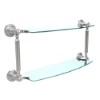 This item: Polished Chrome 18-Inch Double Shelf