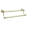 This item: Satin Brass Double Towel Bar