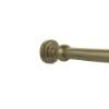This item: Antique Brass Shower Curtain Rod Brackets (One Pair)