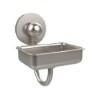 This item: Satin Nickel Wall-Mounted Soap Dish