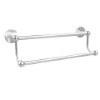 This item: Satin Chrome 24-Inch Double Towel Bar