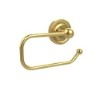 This item: Polished Brass Euro-Style Toilet Paper Holder