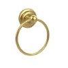 This item: Que New Polished Brass Towel Ring