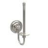 This item: Polished Nickel Upright Toilet Paper Holder