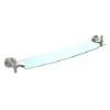 This item: Satin Nickel 24-Inch Single Shelf