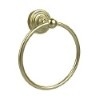 This item: Waverly Place Satin Brass Towel Ring