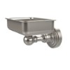 This item: Satin Nickel Waverly Place Soap Dish with Glass Liner