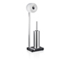 This item: Menoto Matte Stainless Steel Toilet paper Holder and Brush