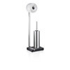 This item: Menoto Polished Stainless Steel Toilet paper Holder and Brush
