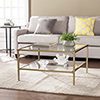 This item: Keller Gold with Light Sheen Cocktail Table