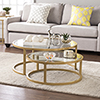 This item: Evelyn Gold Cocktail Nesting Tables