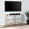 This item: Jaymes Soft Gold Console Table