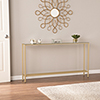 This item: Darrin Metallic Gold Console Table