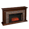 This item: Canyon Whickey Maple Simulated Stone Electric Fireplace