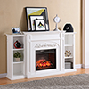 This item: Chantilly White Infrared Fireplace