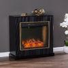 This item: Crittenly Black Alexa Smart Fireplace