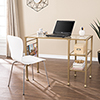 This item: Jaymes Soft Gold Desk