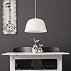 This item: Galindo Matte White LED Pendant
