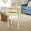 This item: Avondale Antique White Accent Table