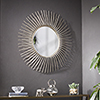 This item: Trevella Champagne Gold Mirror