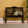 This item: Black Granbury Black Bench
