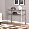 This item: Silver Metal and Glass Console Table