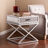 This item: Lazio Industrial Mirrored End Table