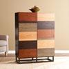 This item: Harvey Multi-Tonal Bar Cabinet