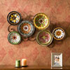 This item: Multicolor Scattered Italian Plates Wall Art