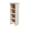 This item: Beige Bookcase with Three Shelves