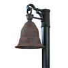 This item: Martine Rust One-Light Dark Sky Outdoor Post Mount