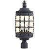 This item: Kingswood Iron Three-Light Outdoor Post Mount