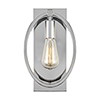 This item: Cardiff Chrome One-Light Wall Sconce