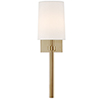 This item: Butler Aged Brass One-Light Wall Sconce