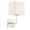 This item: Clayton Polished Nickel One-Light Wall Sconce