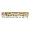 This item: Hopewell Gold Eight-Light Bath Vanity